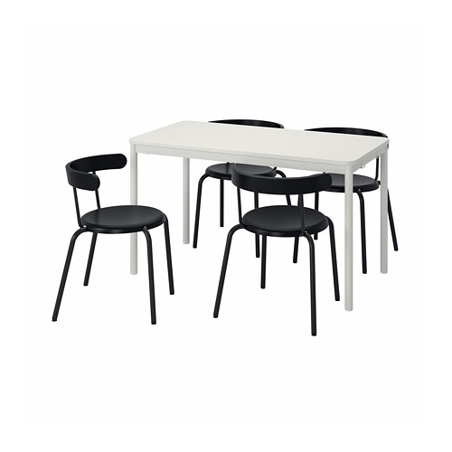 TOMMARYD/YNGVAR mesa con 4 sillas