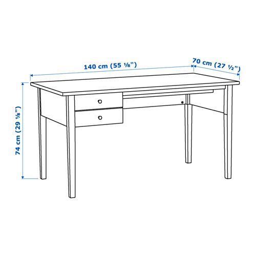 ARKELSTORP escritorio, 140x70cm