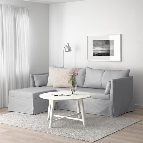 SANDBACKEN sofá 3 plazas esquina