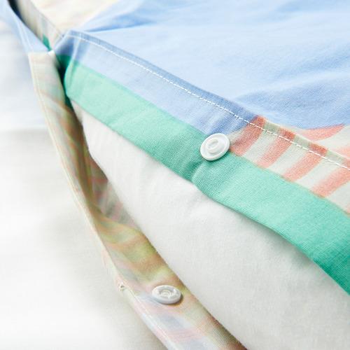 PIMPERNÖT funda nórdica para cama individual y funda almohada, 150x200cm y 50x60cm, 152 hilos