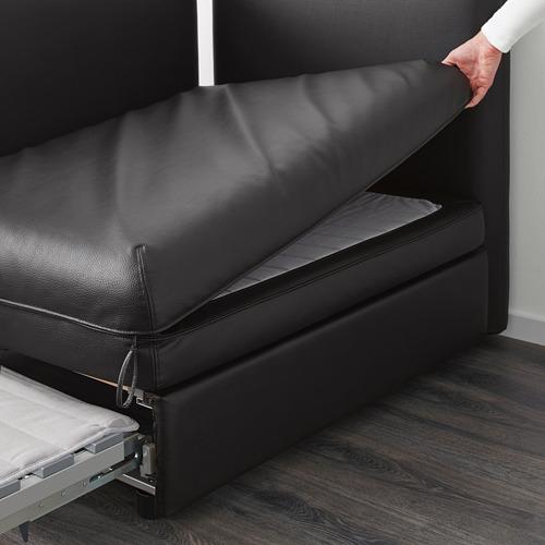VALLENTUNA módulo con cama y respaldo