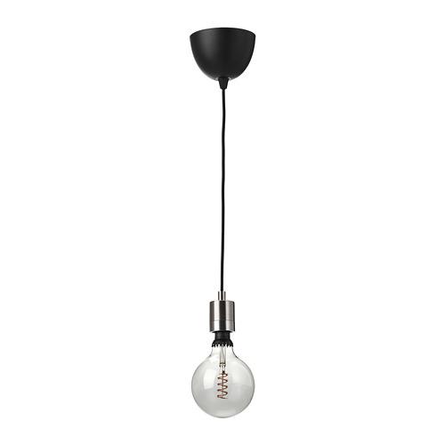 ROLLSBO/SKAFTET lámpara techo + bombilla
