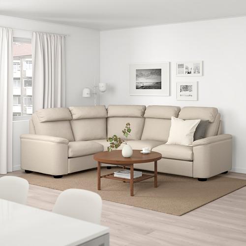 LIDHULT sofá 4 plazas esquina