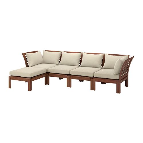 ÄPPLARÖ sofá modular 4 ext