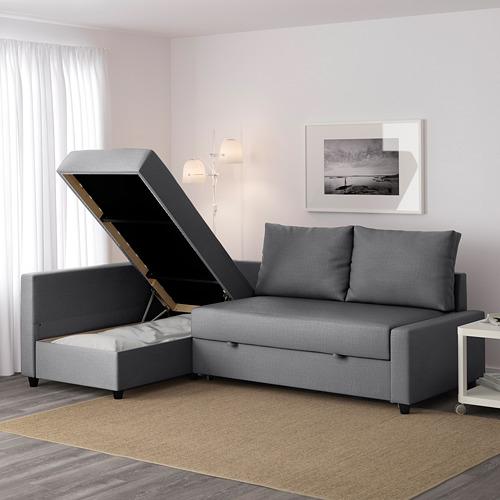 FRIHETEN sofá cama 3 plazas
