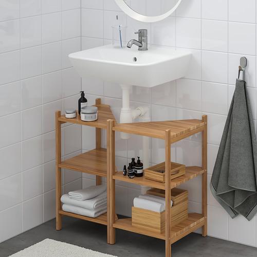 TYNGEN/RÅGRUND muebles de baño, juego de 4