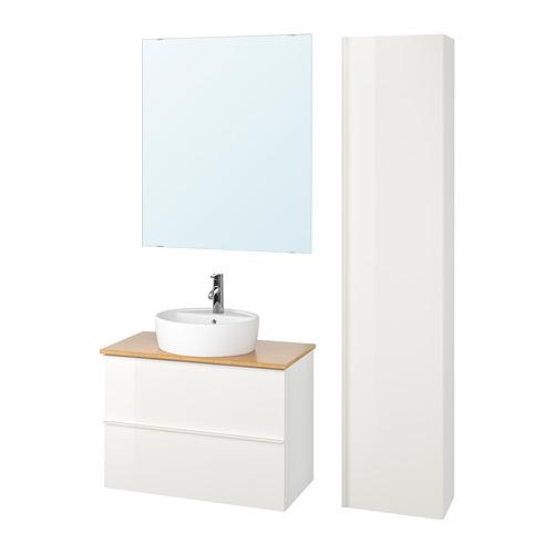GODMORGON/TOLKEN/TÖRNVIKEN muebles de baño j6