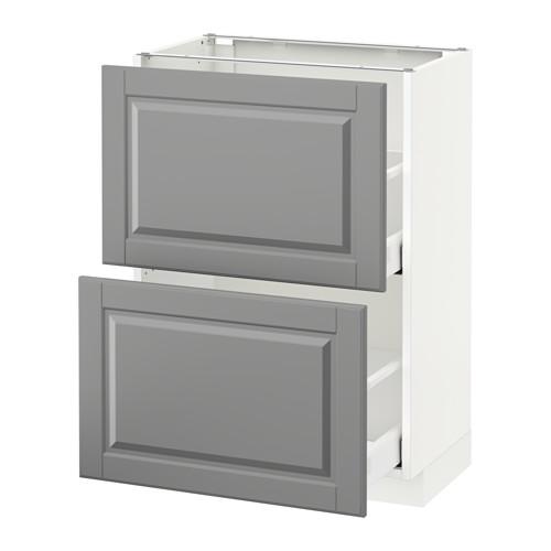 METOD armario bajo cocina con 2 cajones