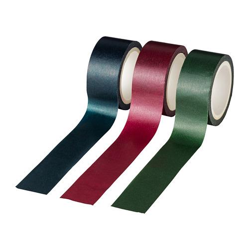 VINTER 2020 rollo cinta adhesiva, juego de 3, 5m de longitud cada uma