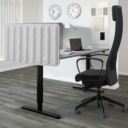 EILIF pantalla para escritorio, 160x48cm