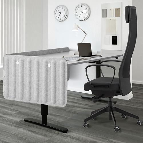 EILIF pantalla para escritorio, 80x48cm