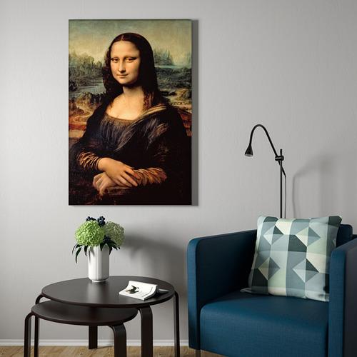 BJÖRKSTA marco e imagen, 78x118cm
