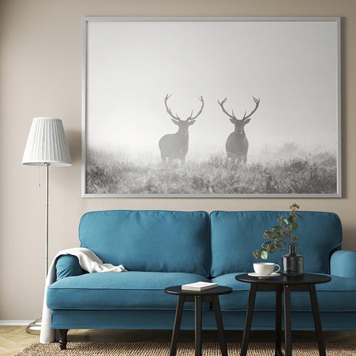 BJÖRKSTA marco e imagen, 200x140cm