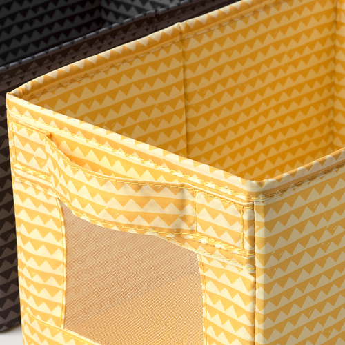UPPRYMD juego de 3 cajas de diferentes colores