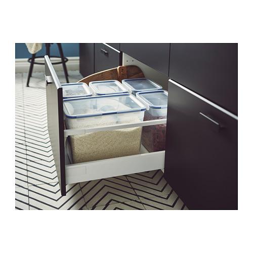 IKEA 365+ bote con tapa, 10,6 litros