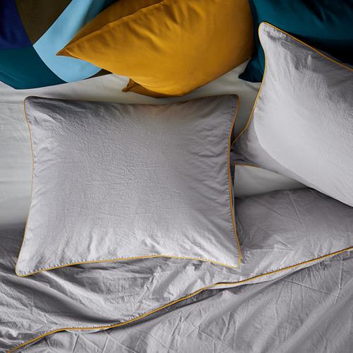 KUNGSBLOMMA funda nórdica y 2 fundas almohada, 240x220cm y 50x60cm, 200 hilos