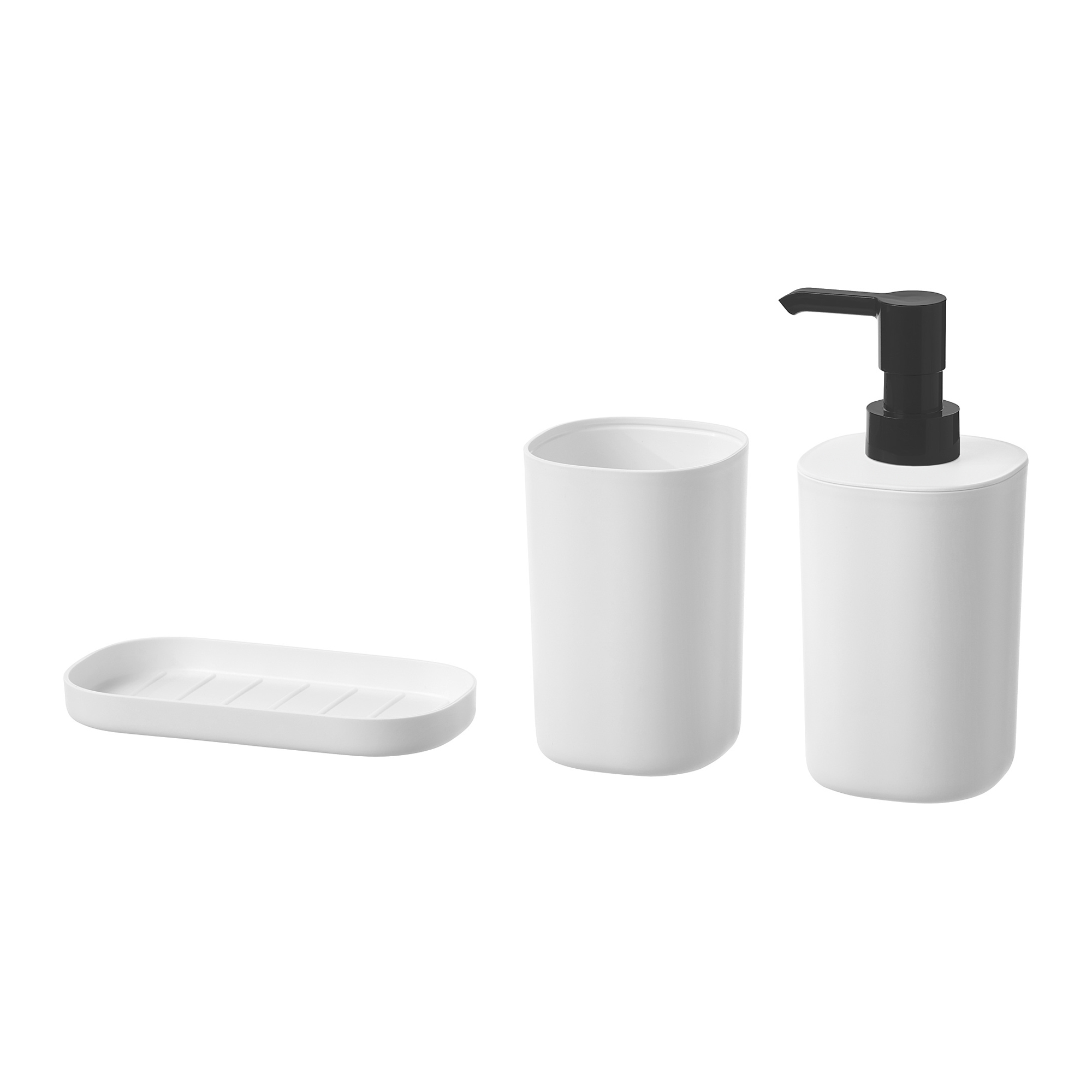 BALUNGEN Dispensador jabón, cromado IKEA