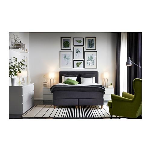 MALM cómoda horizontal de 6 cajones, 160x48x78cm