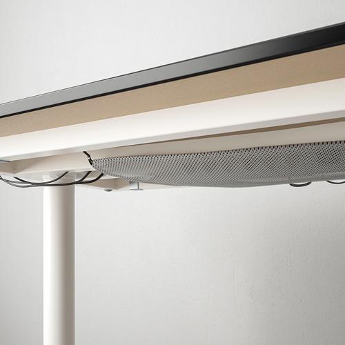 BEKANT  escritorio esquina derecha, 160x110cm, patas regulables