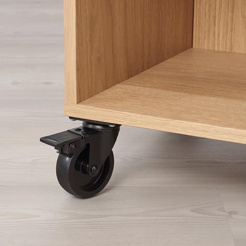 RÅVAROR estantería con ruedas, 67x34x69cm