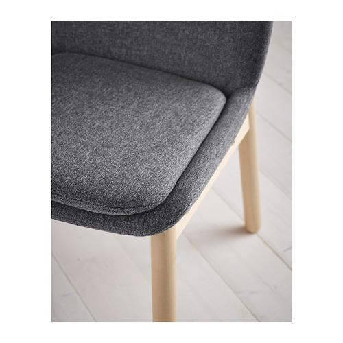 VEDBO/VEDBO mesa con 4 sillas, longitud de la mesa 160cm