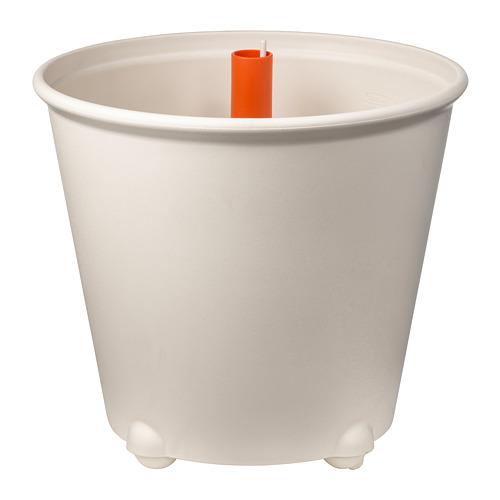 IKEA PS FEJÖ Macetero con autorriego, diámetro máximo maceta, 32 cm