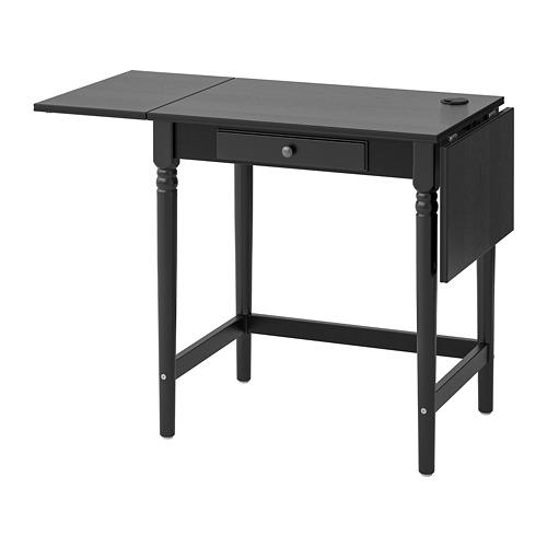 INGATORP escritorio, 73x50cm, con 2 alas extensión máximo 127cm