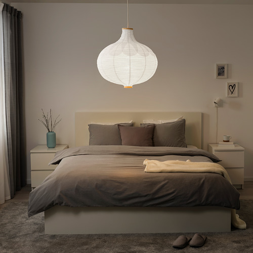 RISBYN pantalla para lámpara de techo