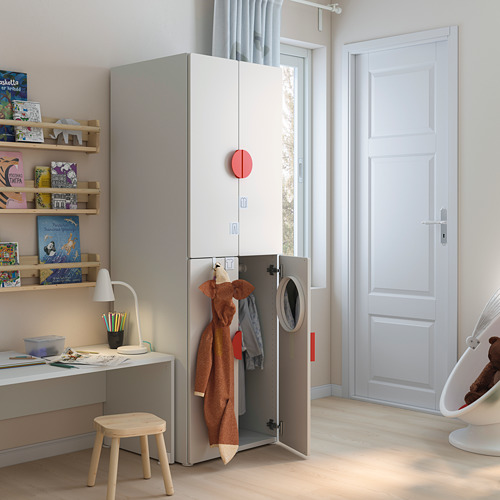 PLATSA/SMÅSTAD armario, 60x55x180cm
