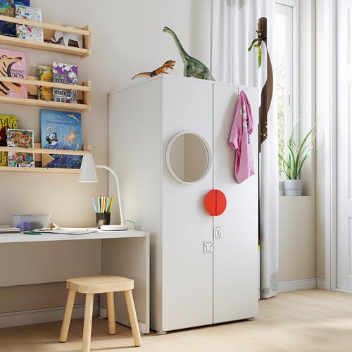 PLATSA/SMÅSTAD armario, 60x55x123cm