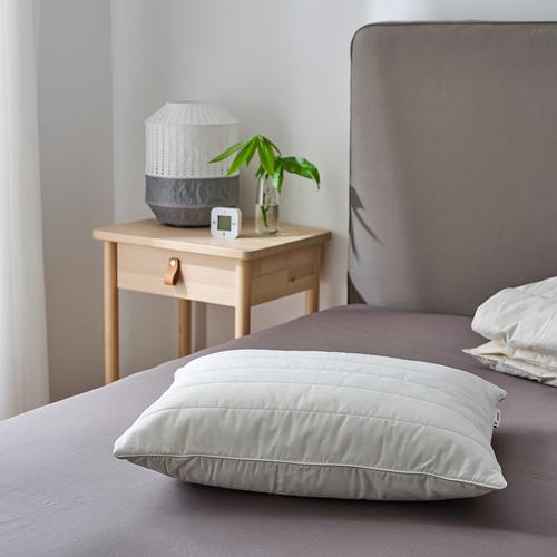 RUMSMALVA almohada ergonómica, de espalda y de lado, 60cm