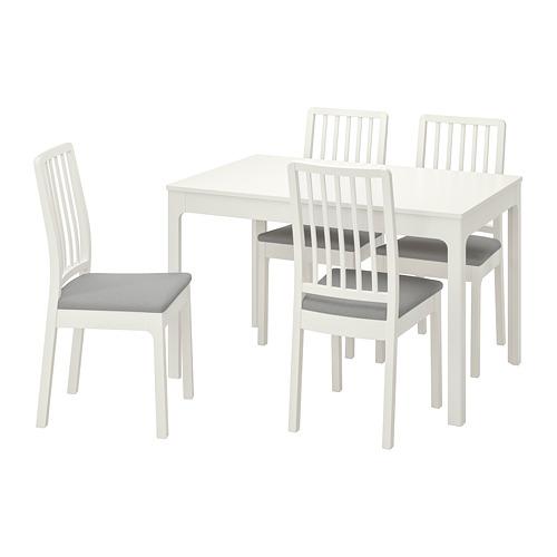 EKEDALEN/EKEDALEN mesa extensible con 4 sillas, máximo extensión 180cm