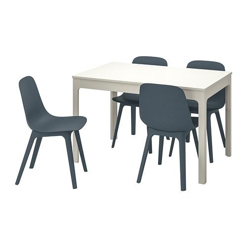 ODGER/EKEDALEN mesa con 4 sillas