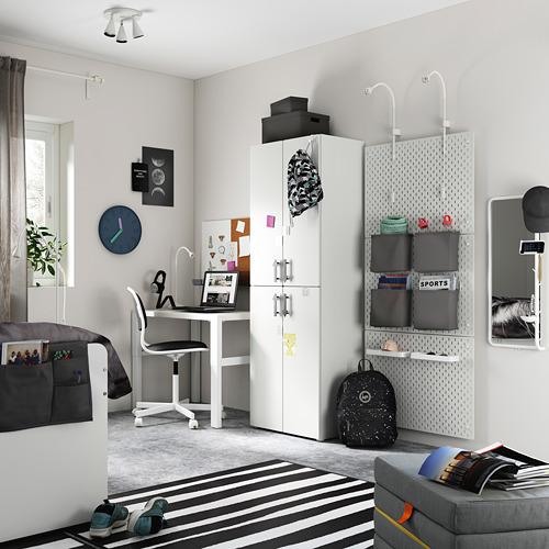 PLATSA/SMÅSTAD armario, 60x40x180cm