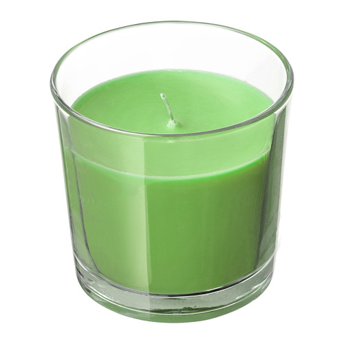 SINNLIG vela aromática en vaso