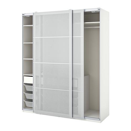 PAX/SVARTISDAL combinación armario