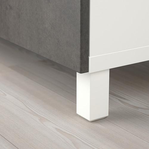 BESTÅ combinación mueble abierto y cerrado con 3 puertas