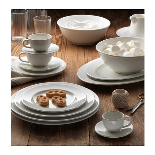 VARDAGEN Taza y plato para expreso, taza 6cl y diámetro plato 11cm