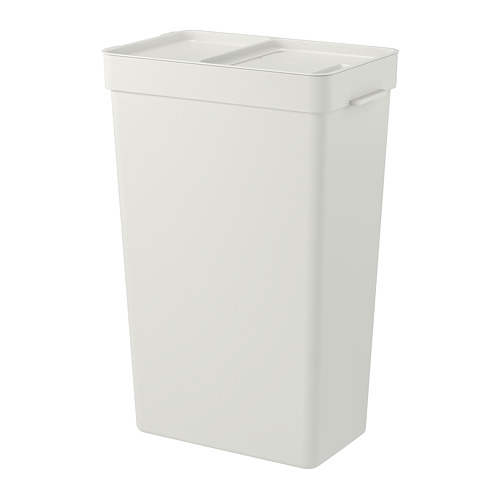 HÅLLBAR cubo con tapa, 35 litros