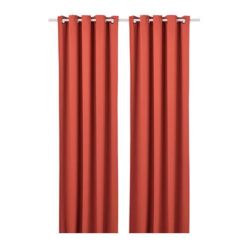 HILLEBORG cortina, 1 par, 145x300cm