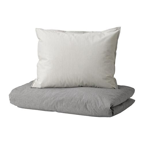 BLÅVINDA funda nórdica y funda almohada,200 hilos, 80 y 90cm