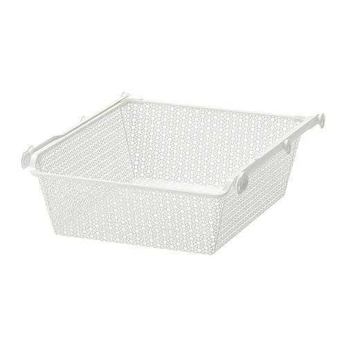KOMPLEMENT cesta de rejilla estrecha +riel extraíble