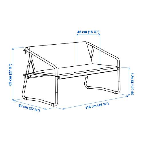 INGMARSÖ sofá 2 int/ext
