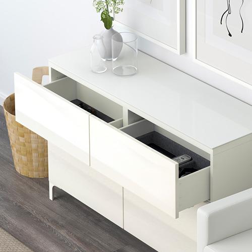 BESTÅ mueble salón + puertas y cajones