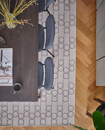 KARLJAN/VANGSTA mesa extensible con 2 sillas, máximo extensión 120cm