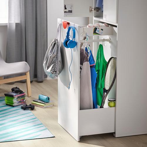 SMÅSTAD armario con módulo extraíble