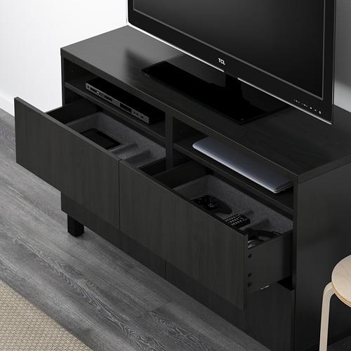 BESTÅ mueble TV con 4 cajones