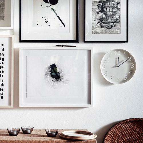 TROMMA reloj de pared, 25cm de diámetro