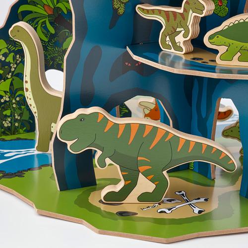 JÄTTELIK dinosaurios 12 piezas