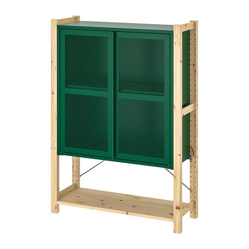 IVAR 1 sección/baldas/armario